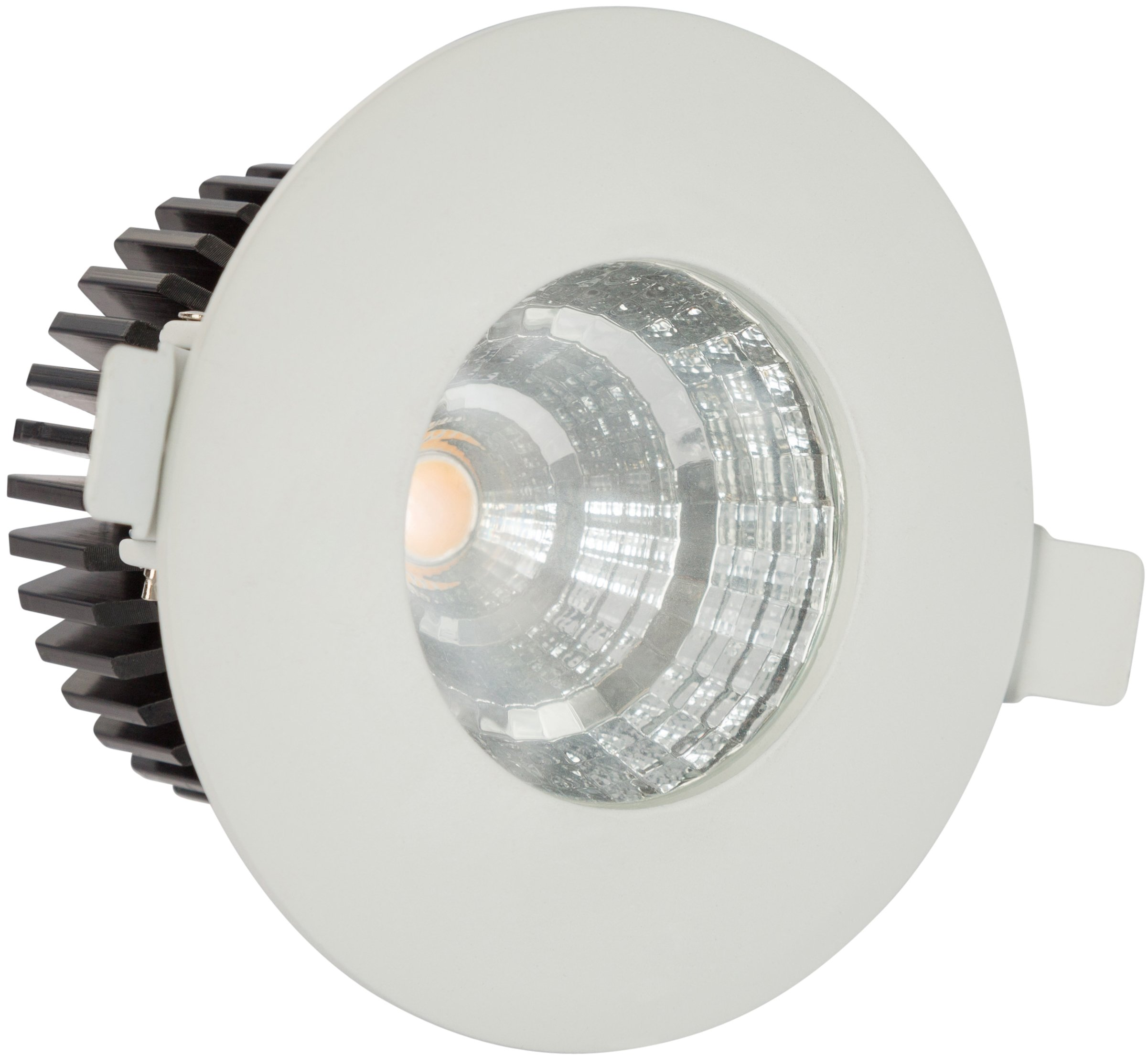LB11337 3-Inch LED Downlight, COB LED Recessed Light Fixture, With LED driver, 6W (50W Equivalent), 4000K Daylight, 420 Lumens, IP65 Waterproof - UL Listed