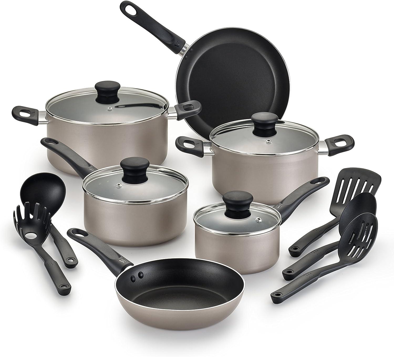 WearEver Complete Nonstick Dishwasher Safe best budget Cookware under 50$