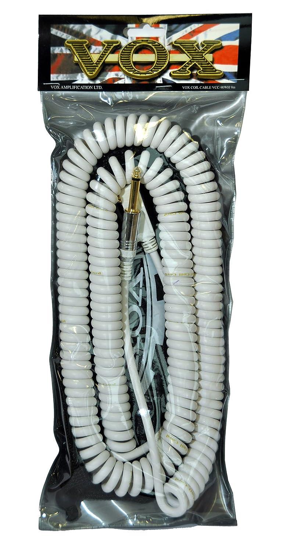 当季大流行 VOX ヴォックス ケーブル ギター&ベースシールド カールコードタイプ ヴォックス ホワイト 長さ 9m ホワイト VOX VCC90 ホワイト B000T9B0VU, 新潟市:8123ea79 --- efichas.com.br