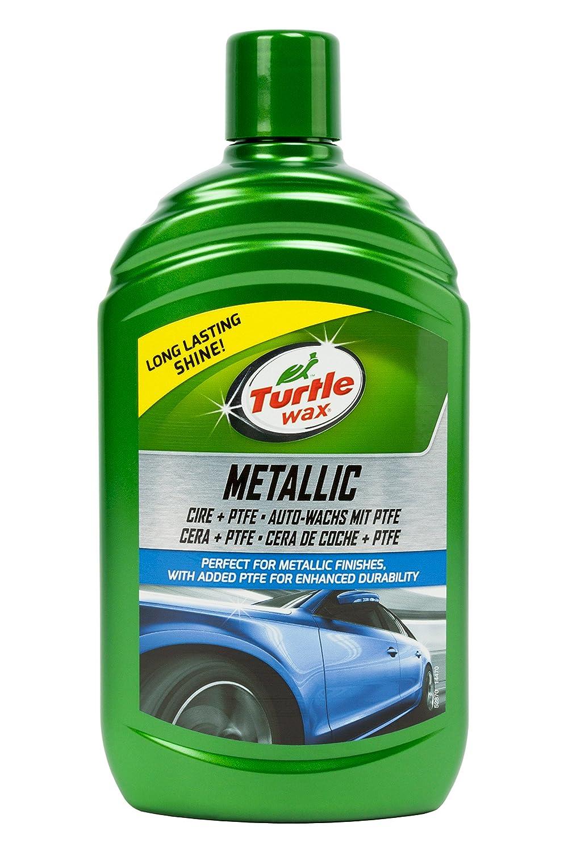 Turtle Wax TW52870 Cera con Tefló n para Pintura Metalizada, 500 ML 52653