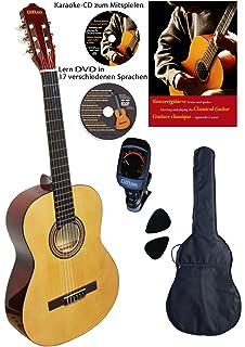 Hh 2141 De SchöNer Auftritt Cascha Westerngitarre Bundle Mit Viel Zubehör Akustische Gitarren