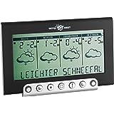 TFA Dostmann satellitengestützte Funkwetterstation Tempesta 300 mit Wetterdirekt Technologie 35.5050.IT