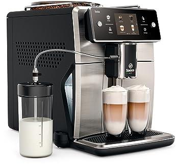 Amazon.com: Cafetera expreso súper automática Saeco con un ...