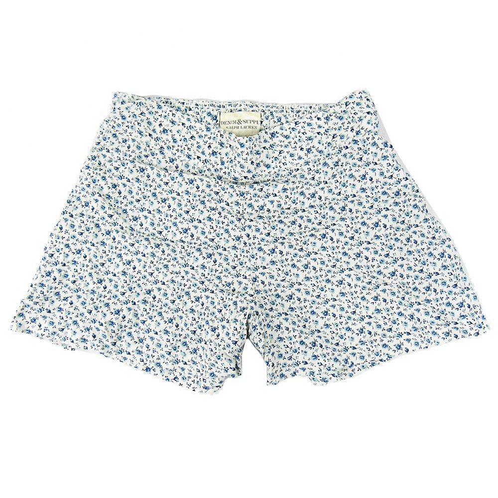 Denim & Supply Ralph Lauren Atlantic Floral Shorts-WHITE-Small