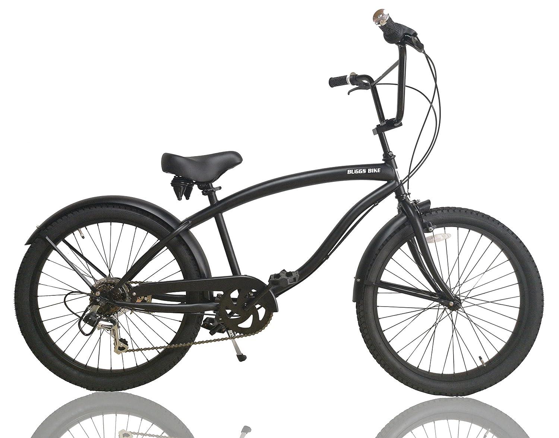 本格的 ビーチクルーザー BMXハンドル仕様 自転車 24インチ BUGGS BIKE B07F1QSY5J