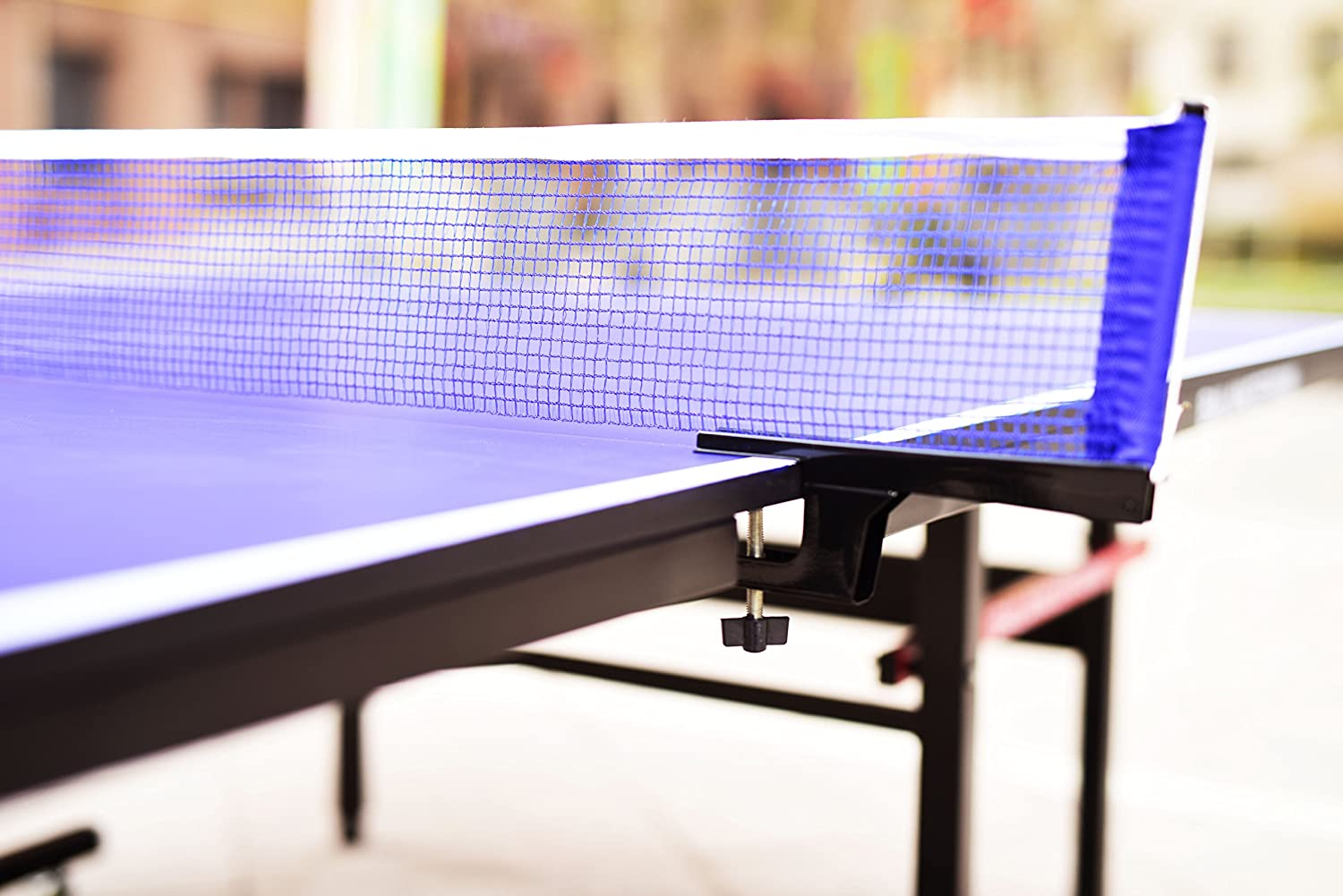BalanceFrom Gopingpong 18mm Wood Surface Inside Table Tennis Table with Net Set