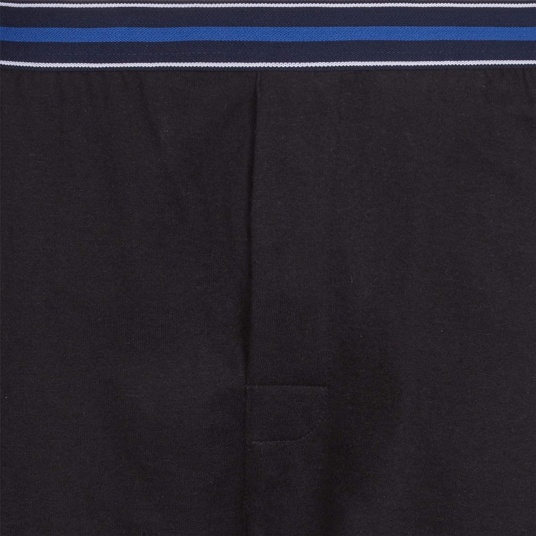 einfarbig warm Style It Up Herren Schlafanzughose//Pyjamahose//Unterhose aus Jersey mit Taschen Baumwolle weich