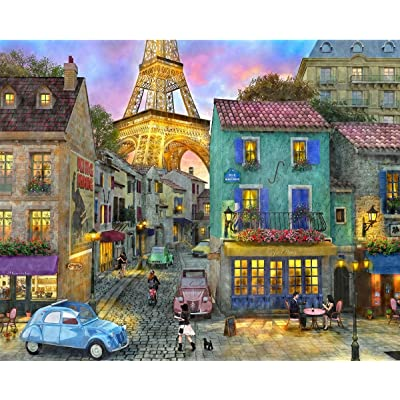 "Springbok Puzzles Eiffel Magic Alzheimer and Dementia Jigsaw Large 23.5"" by 18"" Puzzle (36 Piece), Multicolor"