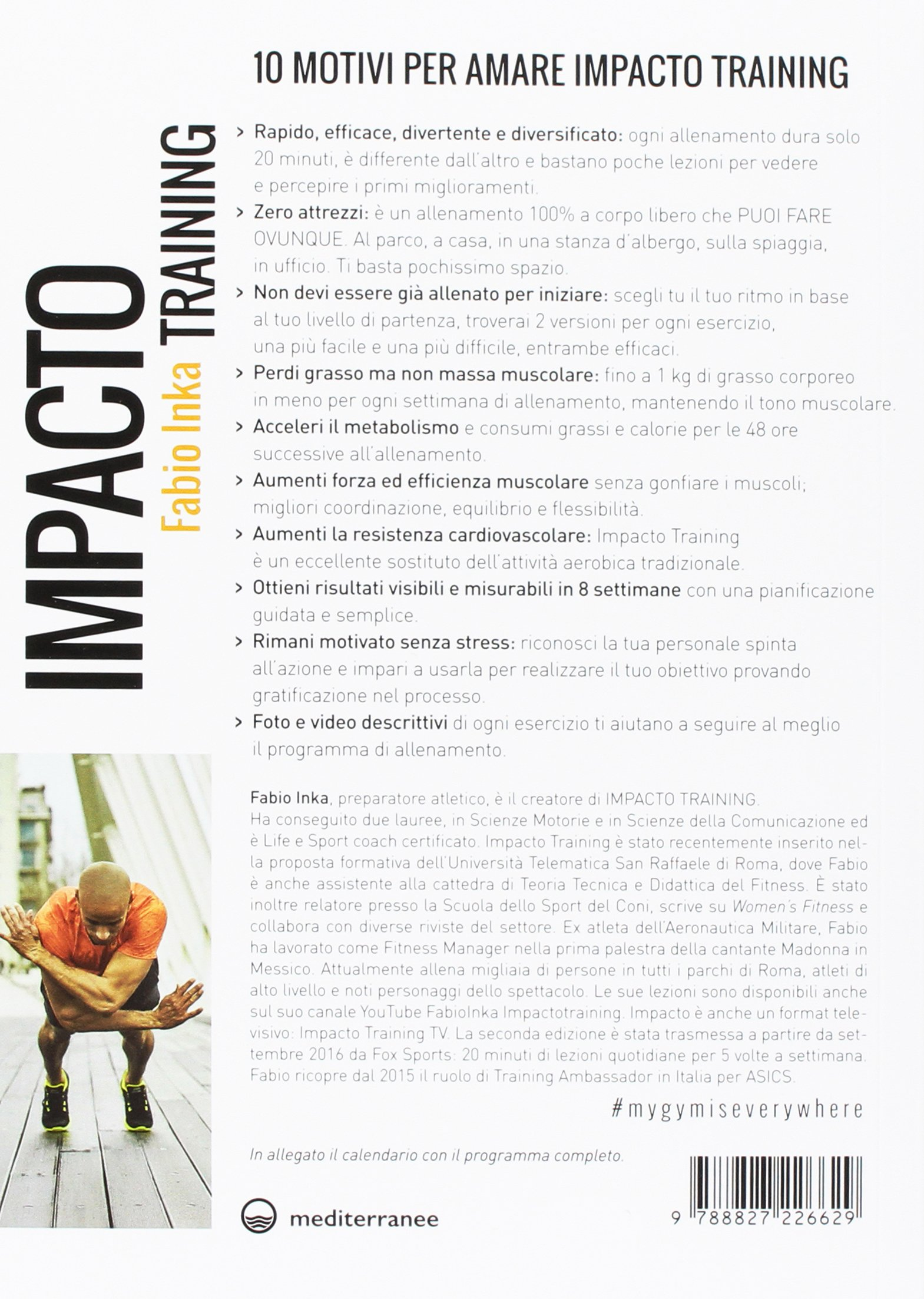 Impacto Training Calendario.Fabio Inka Impacto Training Amazon Co Uk Fabio Inka