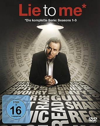 Lie To Me Complete Box 14 Discs Amazonde Tim Roth Kelli