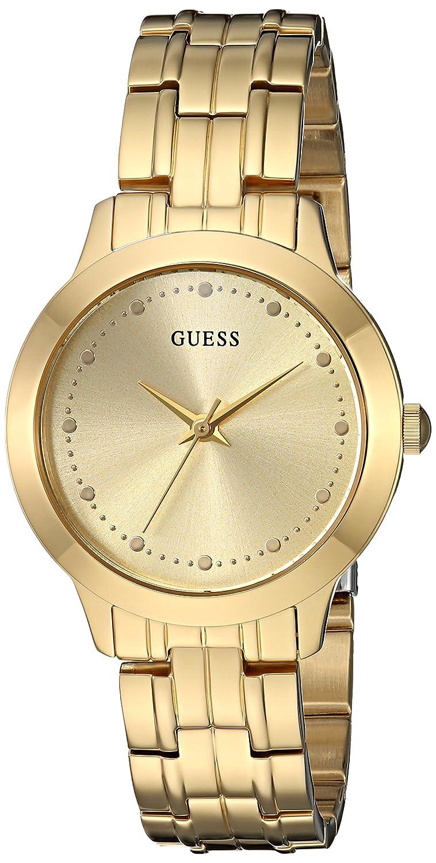 CDM product GUESS Women's Gold-Tone Slim Classic Watch big image