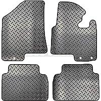 Carsio ZCUT-2223-(40x3) Op maat gemaakte 4-delige rubberen automattenset 3 ronde clips om te passen - Kia Sportage 2010…