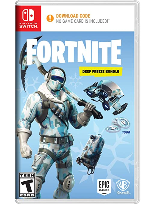 Warner Bros Fortnite Deep Freeze Bundle Nintendo Switch Code