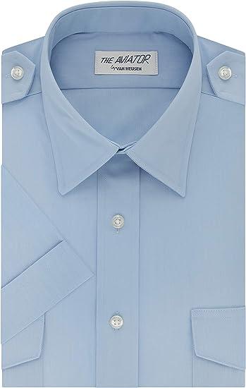 Van Heusen - Camisa de vestir para hombre, manga corta ...