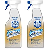 Bar Keepers Friend MORE Dual Action Nozzle Spray and Foam Cleaner | 25.4 Ounces | 2-Pack