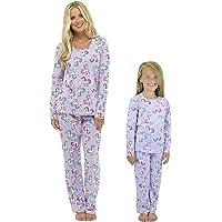 Ladies Girls Pyjamas PJ s Women Twosie Pajama Set - Mum   Daughter Matching Pajamas  Sets b1bfc9003