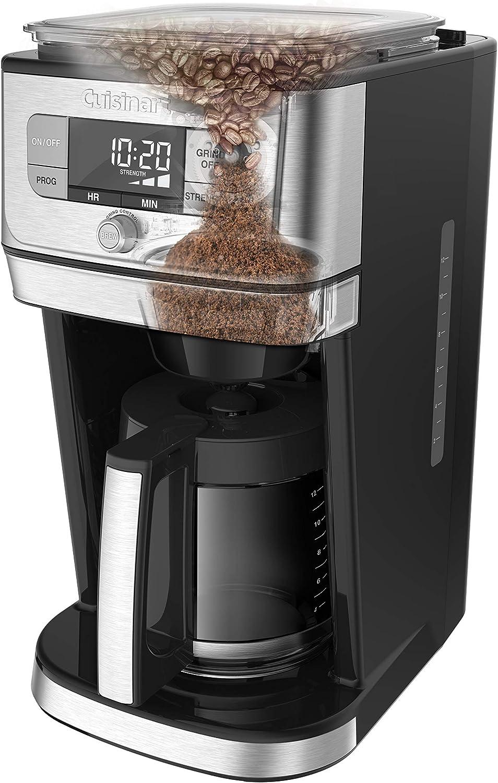Amazon.com: Cuisinart DGB-800 Burr Grind & Brew - Cafetera ...