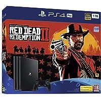 PS4 Pro 1TB Red Dead Redemption 2 Bundle