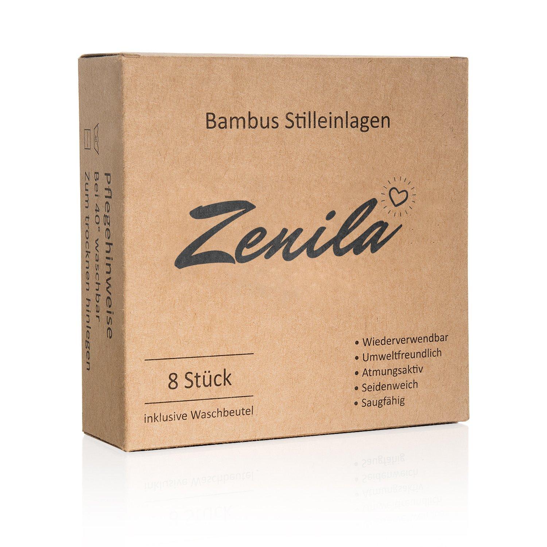 Hochwertige Bambus Stilleinlagen von deutschem Unternehmen f/ür gl/ückliche Mamas wiederverwendbar