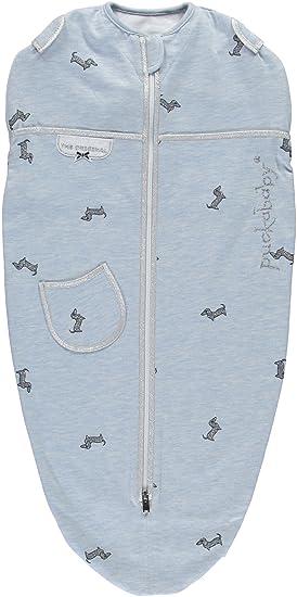 Puckababy® MINI - Saco de dormir arrullos/saco de dormir tipo faja - 3/6 meses | Blue Pucky: Amazon.es: Ropa y accesorios
