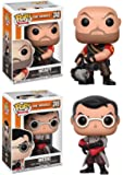 Funko POP! Team Fortress 2: Heavy + Medic - Video Game Vinyl Figure Set NEW