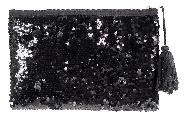 Camomilla Milano-borsa pochette a mano splendid nero