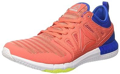 online retailer ec6d0 58210 Reebok Zprint 3D Chaussures de Running Entrainement Femme, Orange (Fire  Coral Stellar PNK
