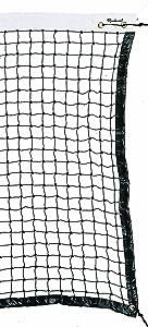 Markwort Home Court Tennis Net with Reinforced Top Binding