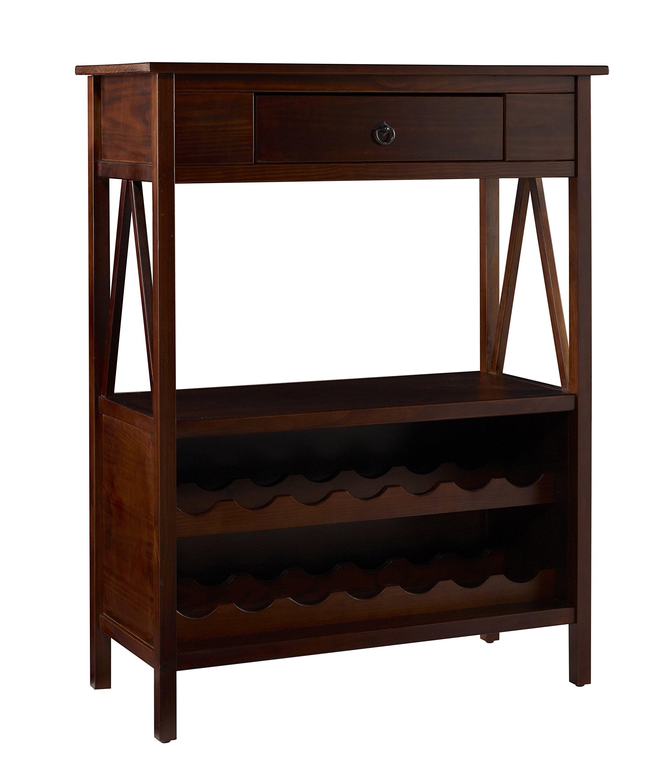 Linon Titian Wine Cabinet by Linon