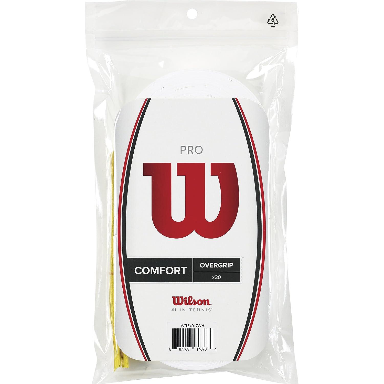 WILSON Pro Overgrips Raqueta-Unisex, Blanco, NS: Amazon.es: Deportes y aire libre