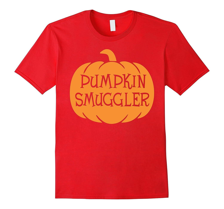 Pumpkin Smuggler Halloween T-Shirt-TD