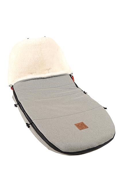 Kaiser Saco de dormir de adaptada para modelo Bugaboo & Joolz piel de cordero, color
