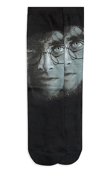 Harry Potter Primark Calcetines - para mujer Negro Face 32-36: Amazon.es: Ropa y accesorios