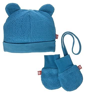 Amazon.com  Zutano Baby Girls  Cozie Fleece Hat   Mitten Set  Clothing cebce1b1b80