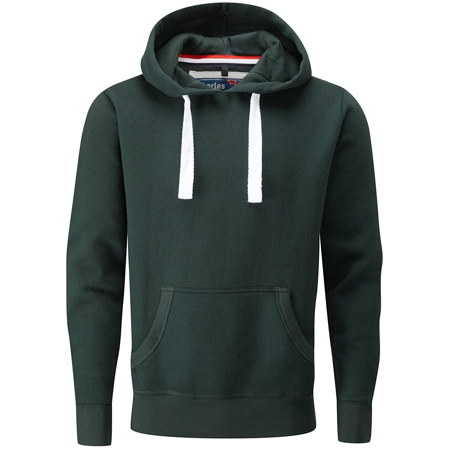 Charles Wilson Men's Midweight Cotton Blend Pullover Slim Fit Hoody