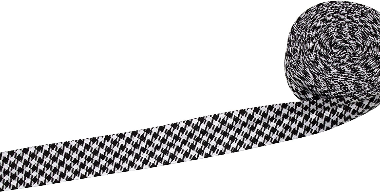 Sold by The Yard Black Cotton Bias Binding 20 mm Wide Single Fold