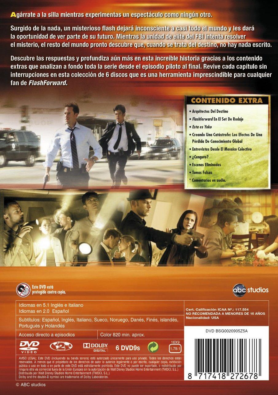 Amazon.com: Flashforward- La Serie Completa (Import Movie) (European Format - Zone 2) (2010) Samantha Thomas: Samantha Thomas: Movies & TV