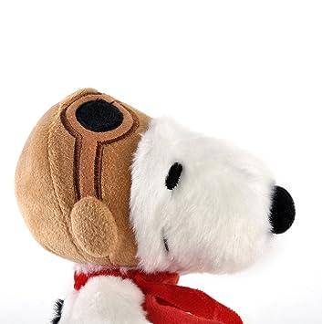 Aurora World - Snoopy Piloto de Peluche, de 19 cm