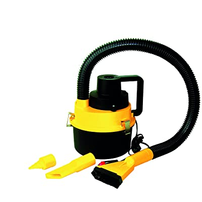 VIP 0842034511113Upright Vacuum Cleaner 12V-90W, Yellow: Automotive