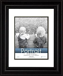 timeless expressions photo lauren portrait wall frame 16x20 black