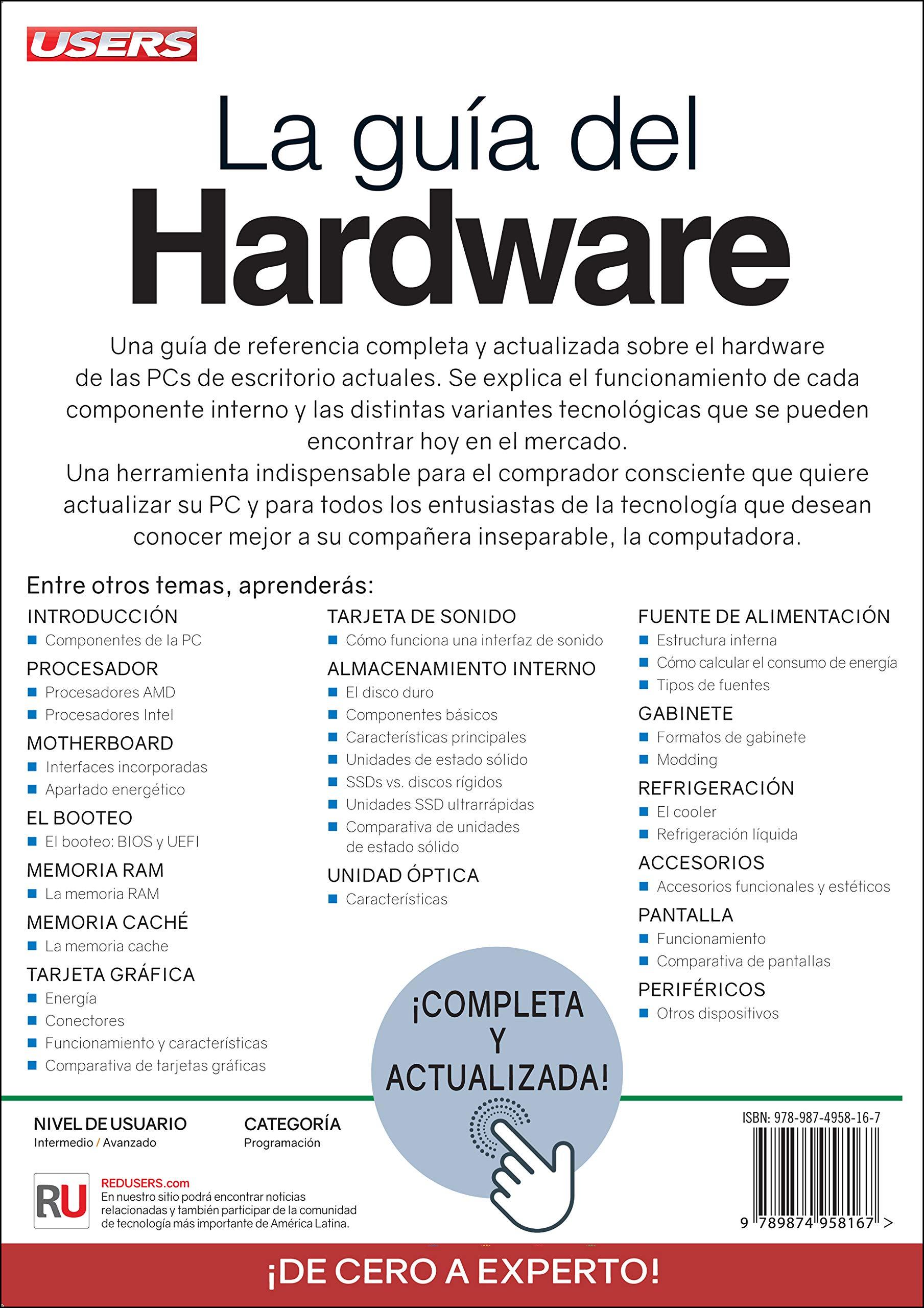 La Guía Del Hardware Spanish Edition Javier Richarte