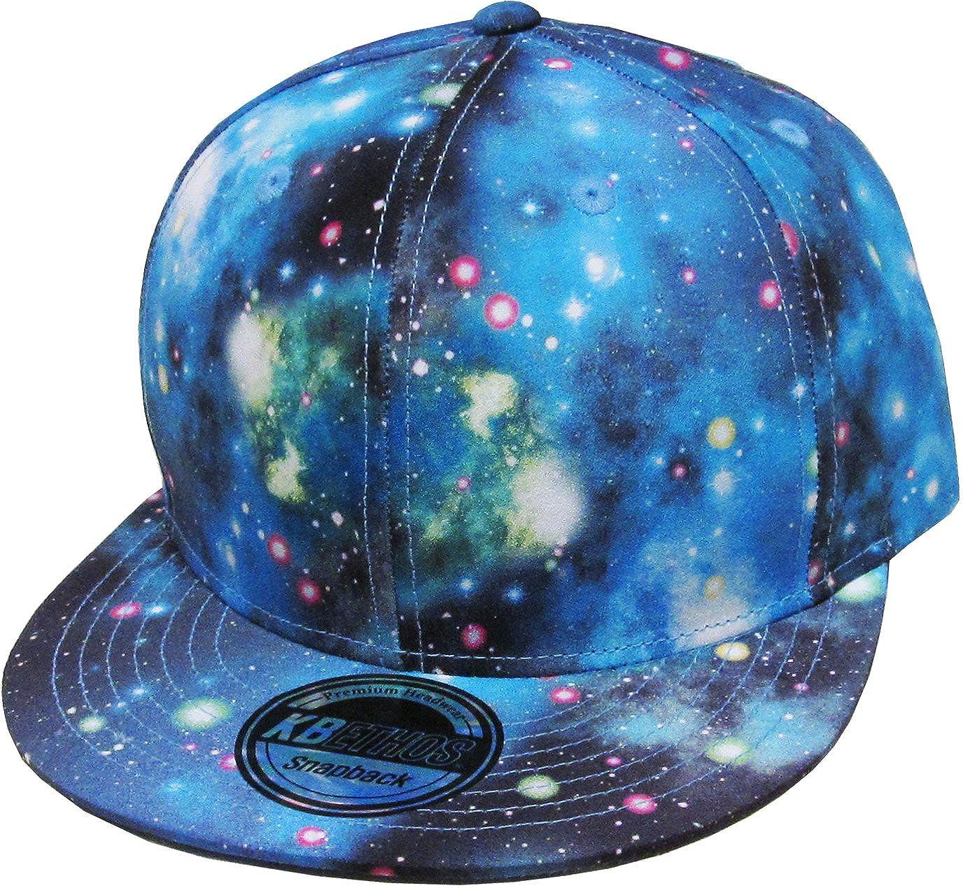 KBETHOS Galaxy Snapback Dad Hat Baseball Cap $C KNW1469GX_ALL_BLK
