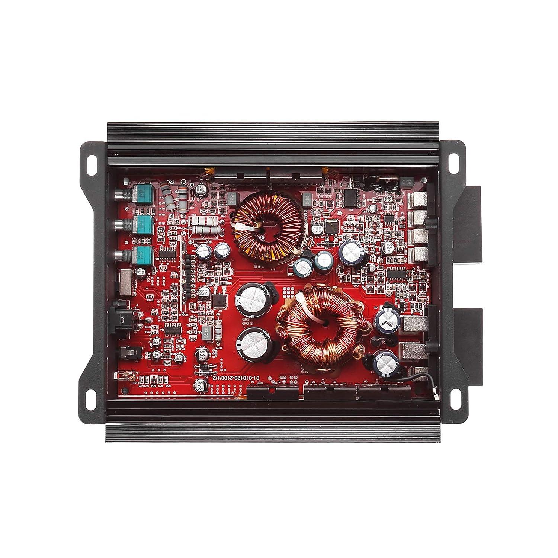 Skar Audio RP-600.5 700 Watt Full-Range Class AB//D 5-Channel Car Amplifier