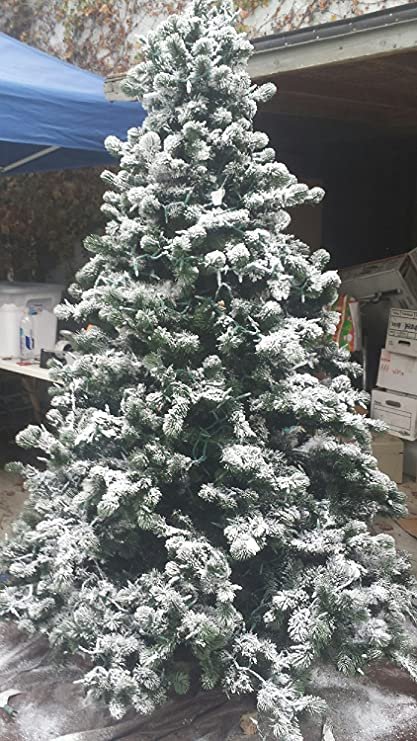 Amazon.com: 1LBS of the Original, Professional Grade Snow Flocking Powder ~  Sno-bond Flock with Opalescent Flakes for Trees and Wreaths: Home & Kitchen - Amazon.com: 1LBS Of The Original, Professional Grade Snow Flocking