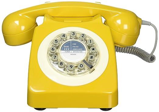 Wild Wood 746 Retro Design Phone, Metallic Copper by Amazon