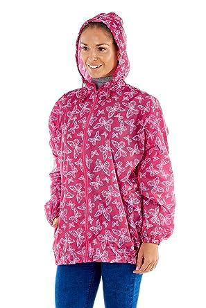 Womens ProClimate Wind Showerproof Jacket in Bag Ladies Hooded Pac A ... 975a752958