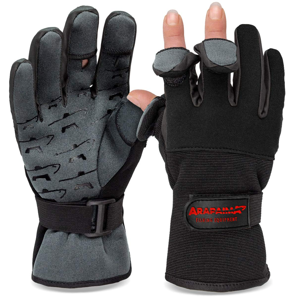 noorsk - ® Fishing Gloves Guantes de Pesca: Amazon.es ...