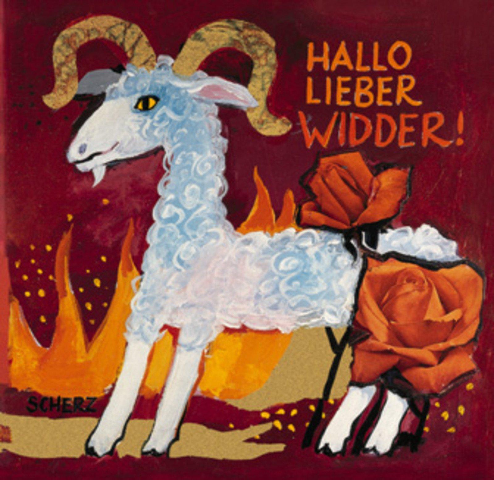 Hallo Lieber Widder!