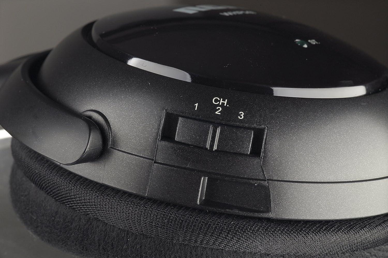 Rca Whp141b 900mhz Wireless Stereo Headphones Home Jack Radio Shack Wiring Diagram Audio Theater