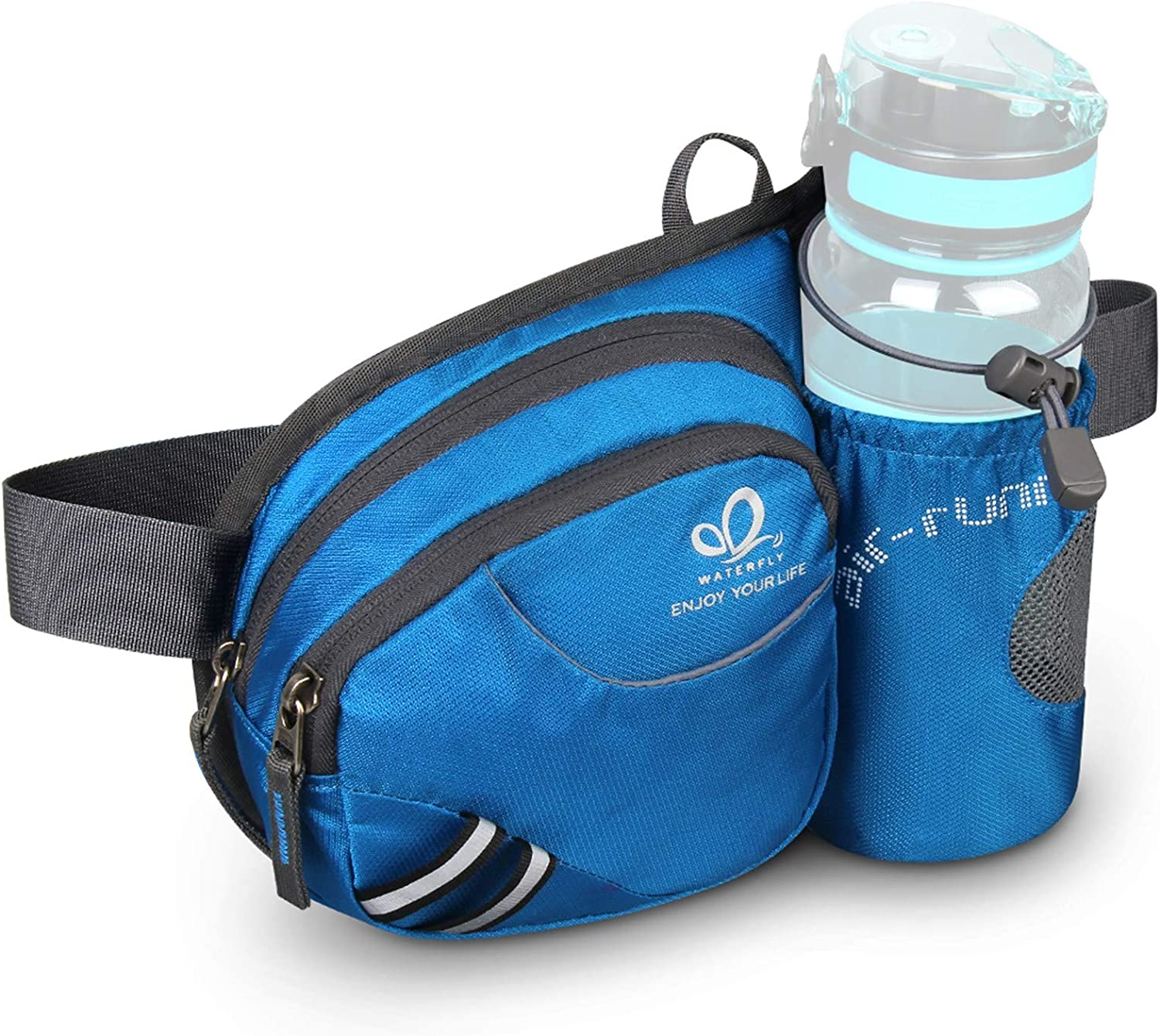 """Everest Day Pack w// Water Bottle Holder Hiking Backpack Carry On 16x10x5/"""" NEW"""